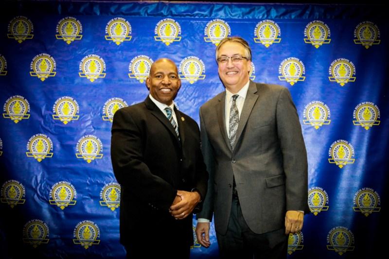 Dr. Shcaefer and Lyle Martin