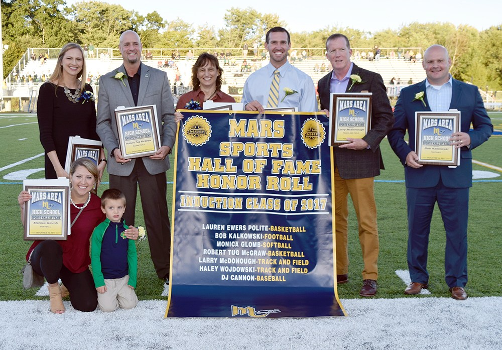 Mars Area High School Sports Hall of Fame Inductees