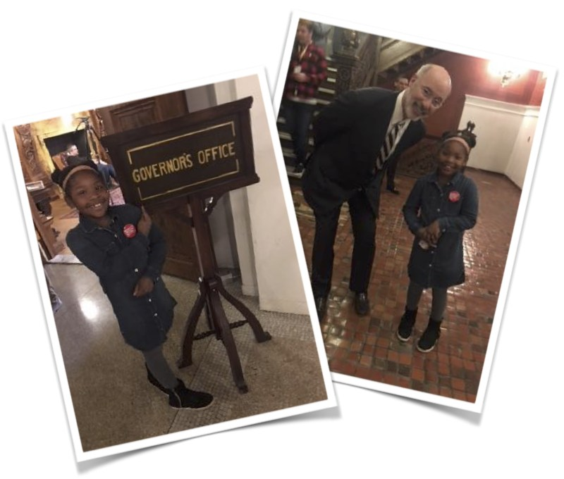 GWCS 2nd Grader Spends Day with Governor Wolf Featured Photo