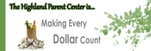 Find out how to make your Dollars Count at the new HHS Family and Parent Center!