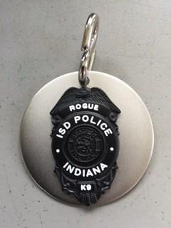 k9 Rogue's badge