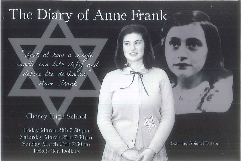 THE DIARY OF ANNE FRANK DRAMA PRODUCTION Thumbnail Image
