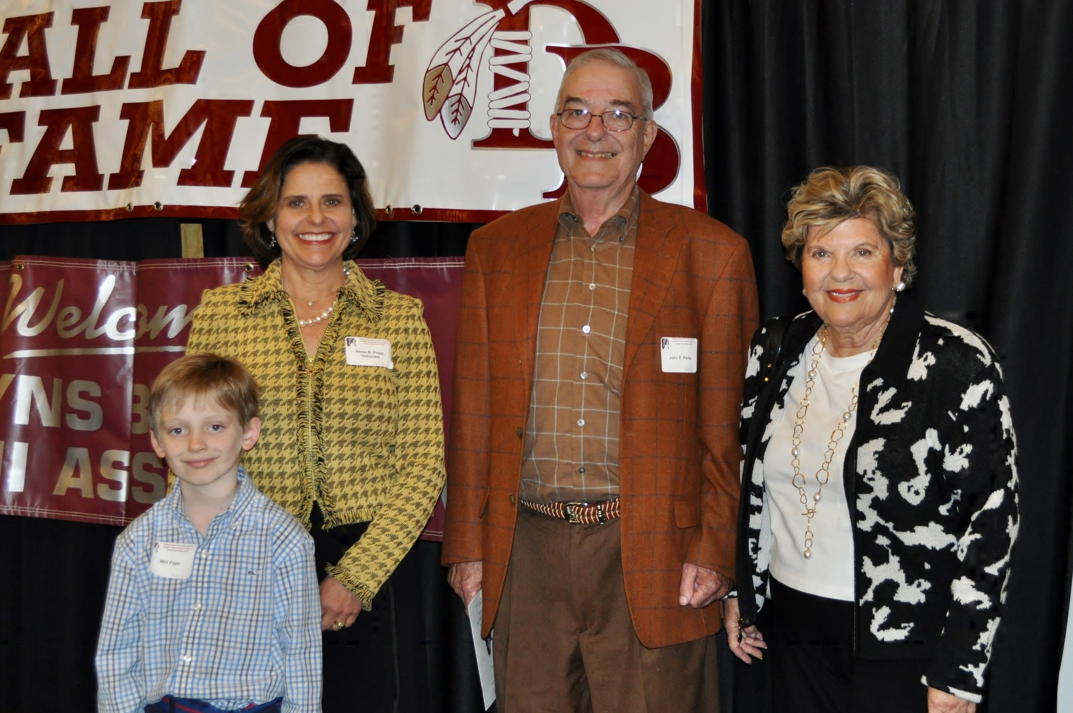 2015 Induction Ceremony: Anne B. Pope & Family