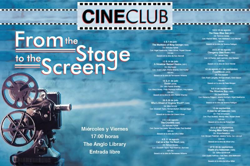 Sigue nuestro Cine Club