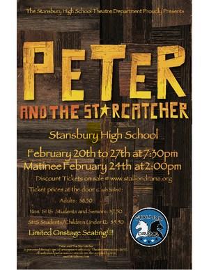 Peter and The Starcatcher playbill