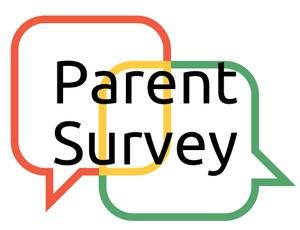 parent survey image with chat boxes