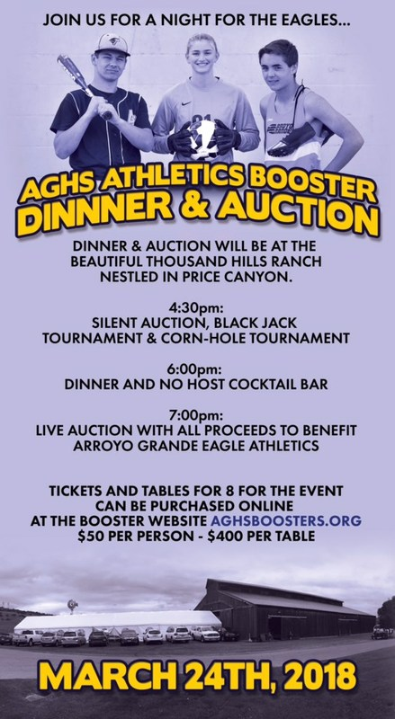 Athletic Booster Fundraiser 2018