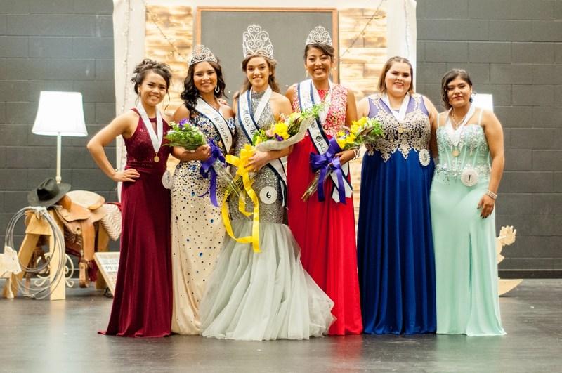 2017-2018 Miss Wapato Contestants