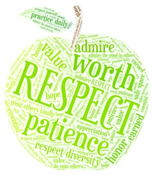 Apple wordle about respect
