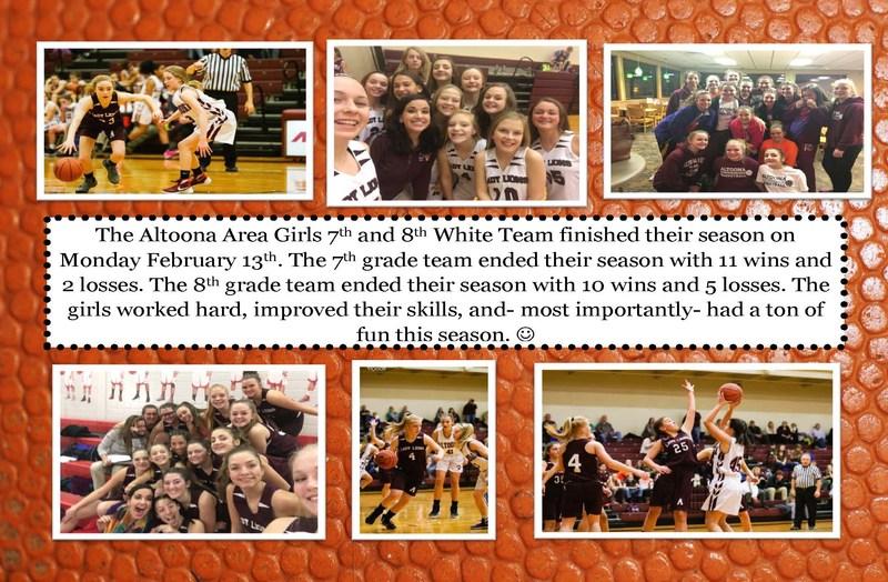 AAJHS 7th & 8th Grade Girls Basketball - White Team Thumbnail Image