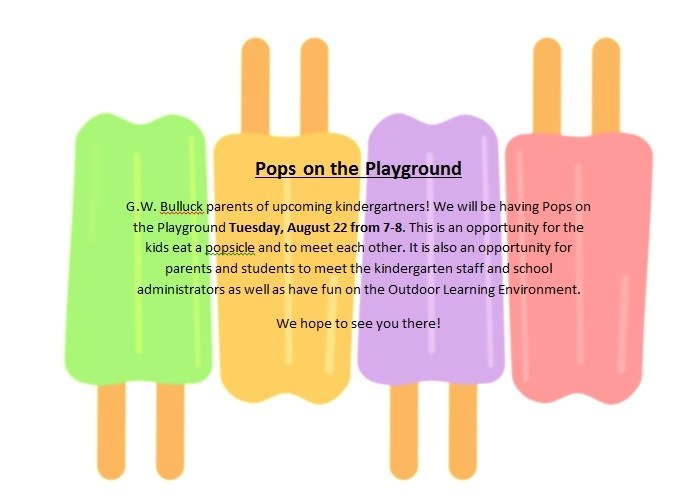 Pops on the Playground for Kindergarteners Thumbnail Image