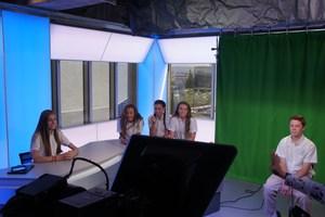WOLF News : EWTN - Students in group on set.JPG