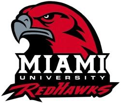 Image is of the Miami University Redhawks