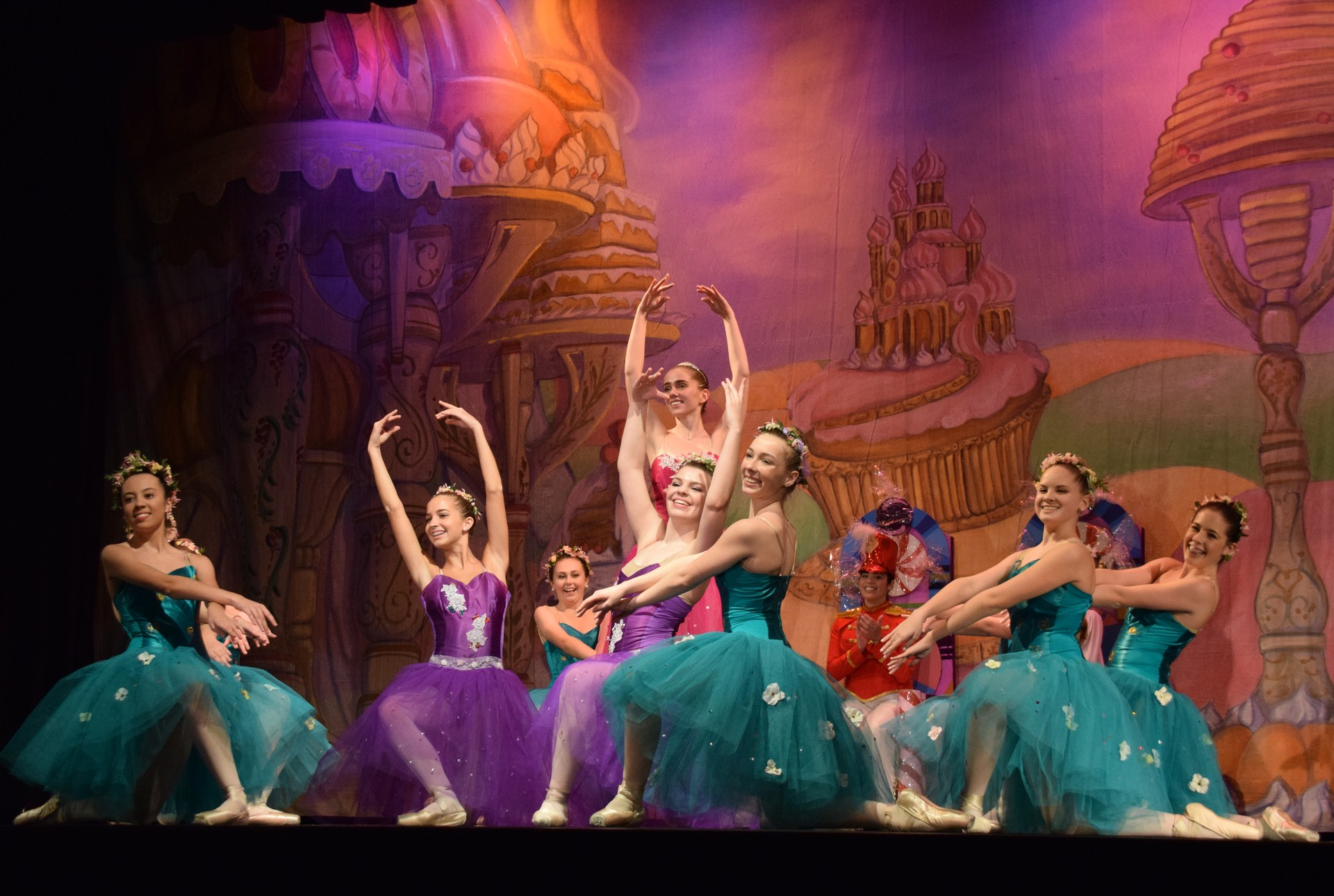 SHA students performing the Nutcracker