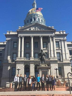 Cañon City High School Student Leaders Visit State Capitol