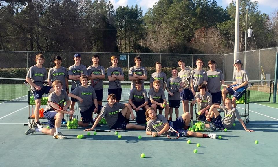 2016 Boys tennis team