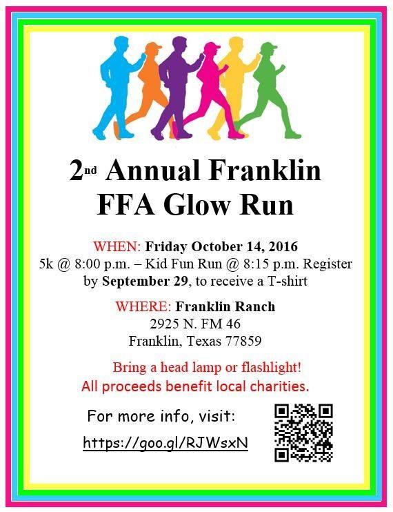 2nd Annual Franklin FFA Fun Run Thumbnail Image