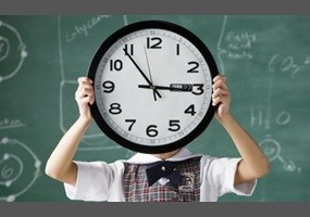 New School Hours 7:35 a.m. to 3:15 p.m.