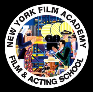 Logo of the New York Academy Film & Acting School.