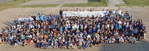 Side by Side with Ingleside, picture of students and staff.