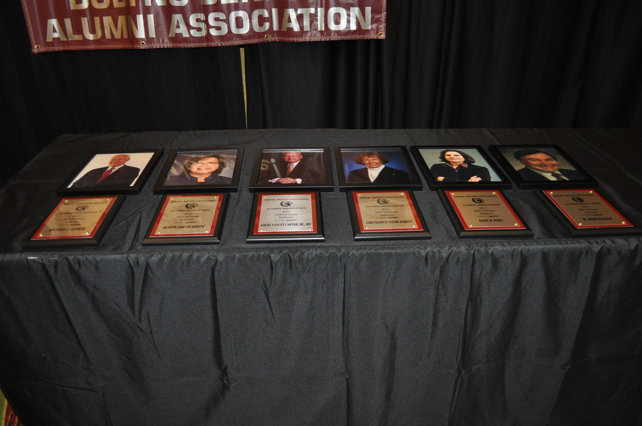 Class of 2015 Plaques