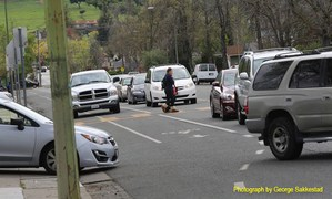Traffic and parking issues around Leigh High School