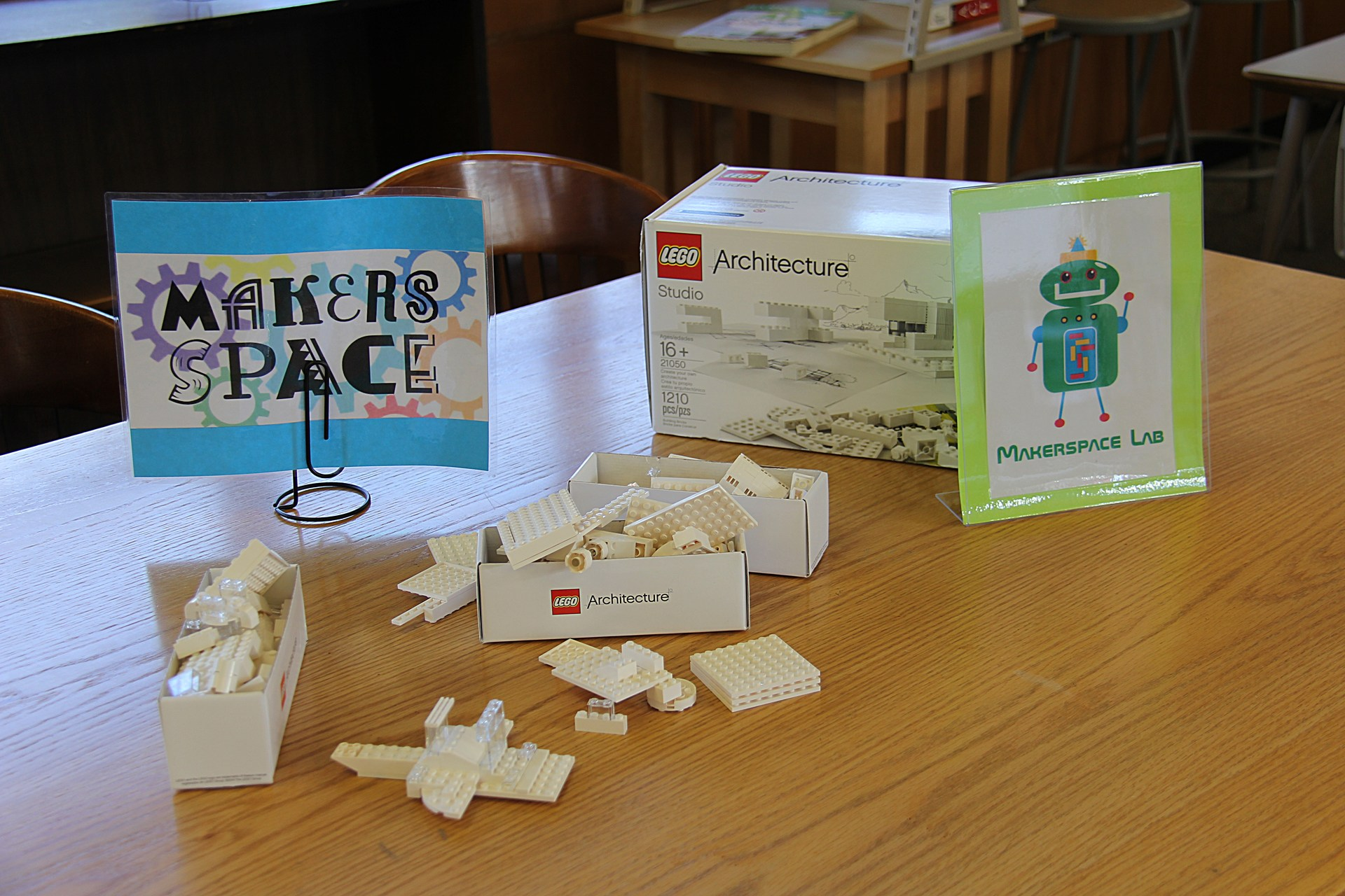 Image of Makerspace station in Library
