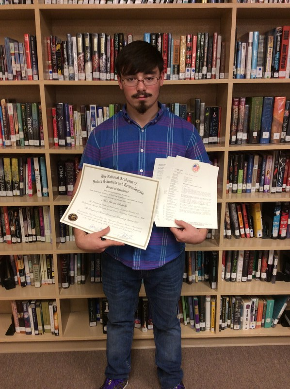 Ashland High School Student receives Award Featured Photo