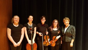 Students & conductor group
