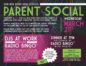 parent social flyer
