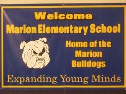 Marion Elementary Bulldogs Bulletin Board