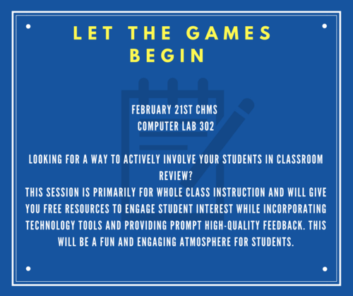 Let the games begin PD announcement