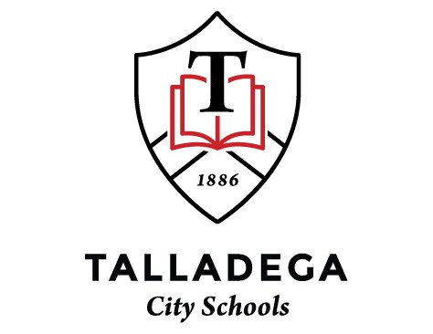Talladega City Schools Vertical Logo