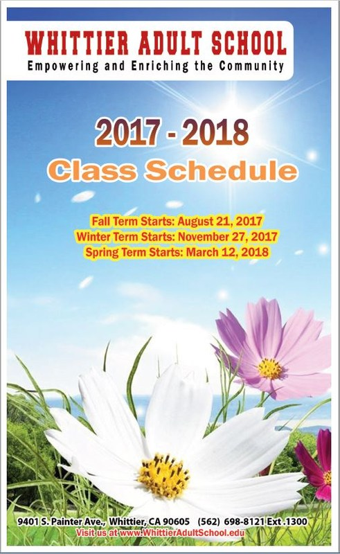 2017 - 2018 Class Schedule Featured Photo