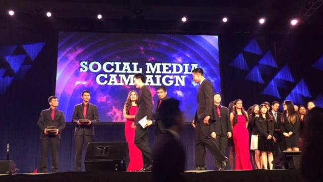 FBLA Social Media Campaign 3rd place winners at State Leadership Conference