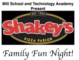Shakey's Family Fun Night