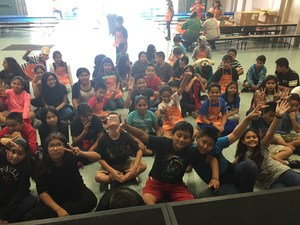 Accelerated Reader Party with Home Depot