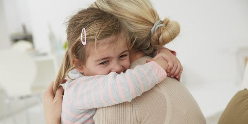 Child's embrace