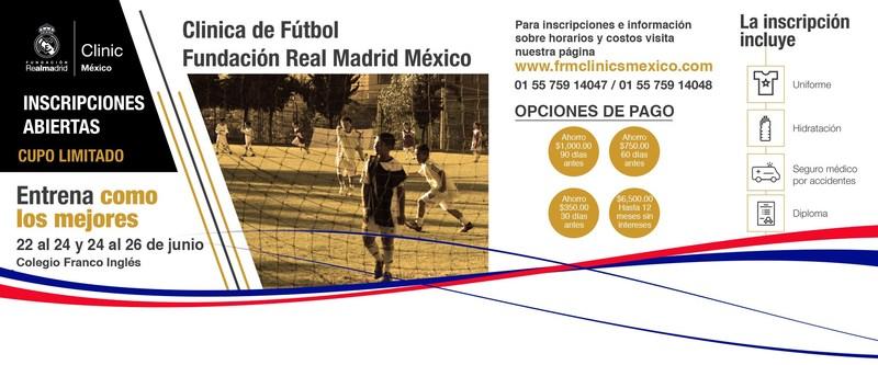 Clínica de Futbol, Fundación Real Madrid México Thumbnail Image