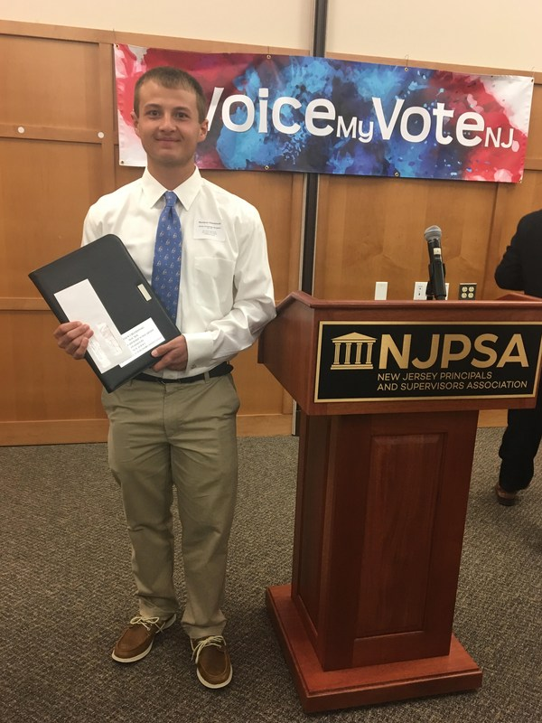 SHS Senior Matt Chludzinski Receives  NJPSA Leadership Scholarship Featured Photo