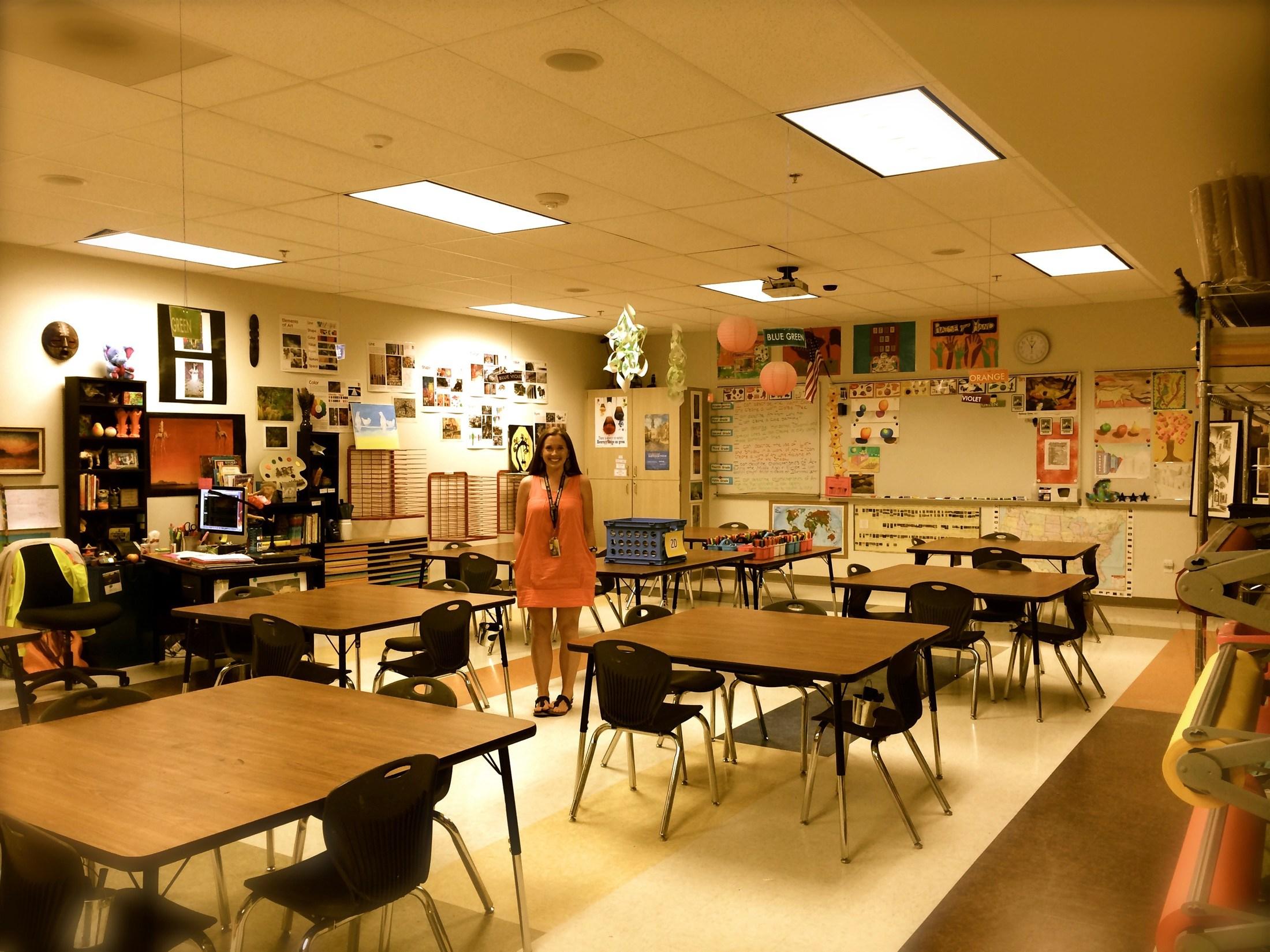 Elementary Art Classroom