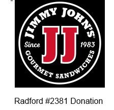Jimmy Johns in Radford