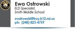 Ewa Ostrowski email