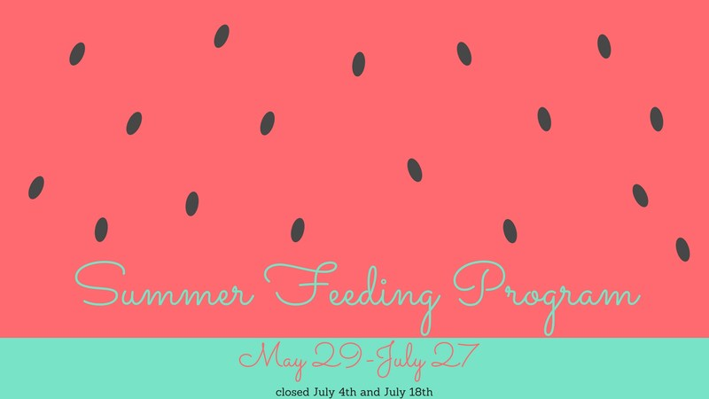 Summer Feeding Program flyer