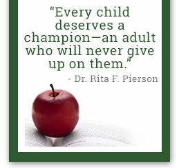 every child deserves a champion- dr. Pierson quote
