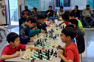 Students Playing Chess