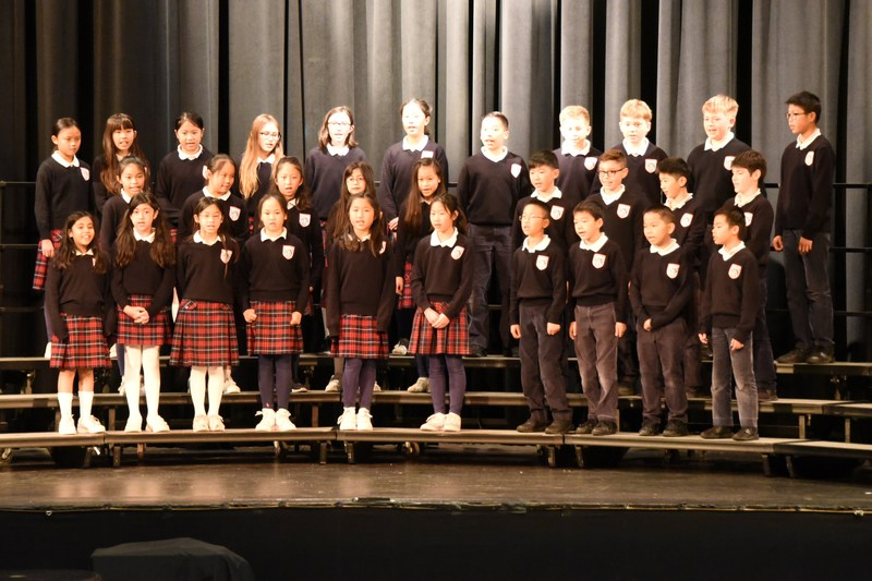 Fifth graders sing at the Archdiocesan Choral Festival. Thumbnail Image