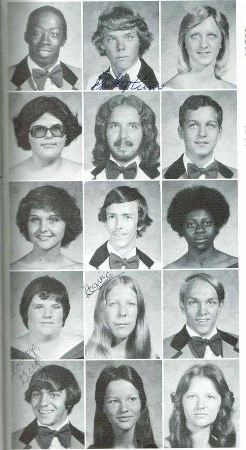 My senior high school picture