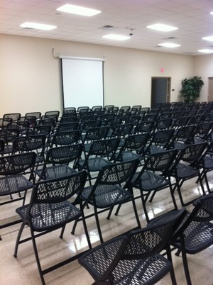 conference room d, seats 143 without tables