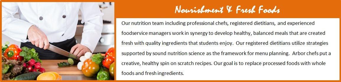 Nurishment and Fresh Foods